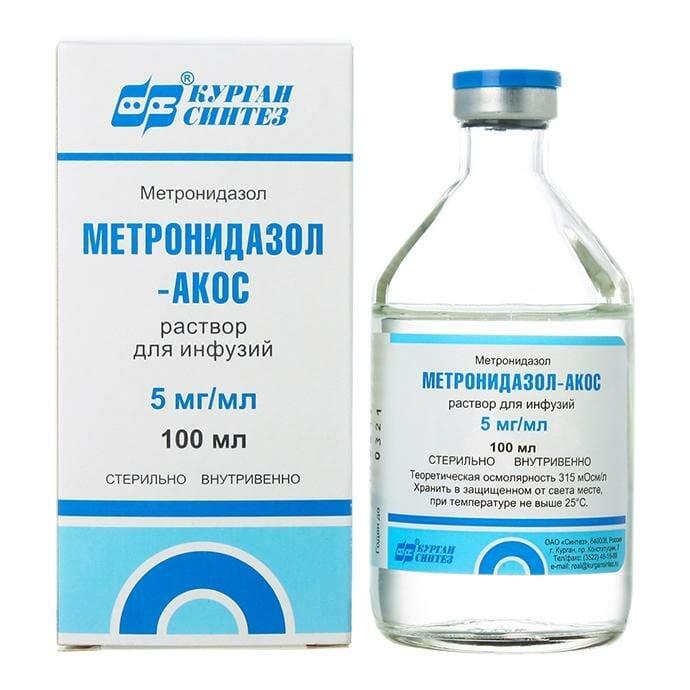 Ин����к�ия по п�именени� Ме��онидазола в гинекологии