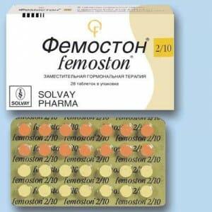 Блистер таблеток Фемостон