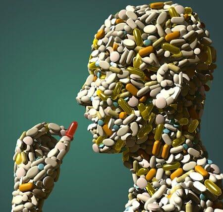 Человек из таблеток