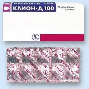 Клион-Д вагинальные таблетки