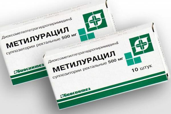 Метилурациловые свечи в гинекологии и проктологии