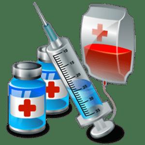 Шприц и лекарства