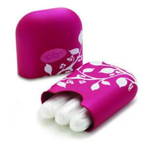 Тампоны в розовой коробочке