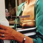 Грудь при маммографии