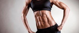 Девушка с мышцами