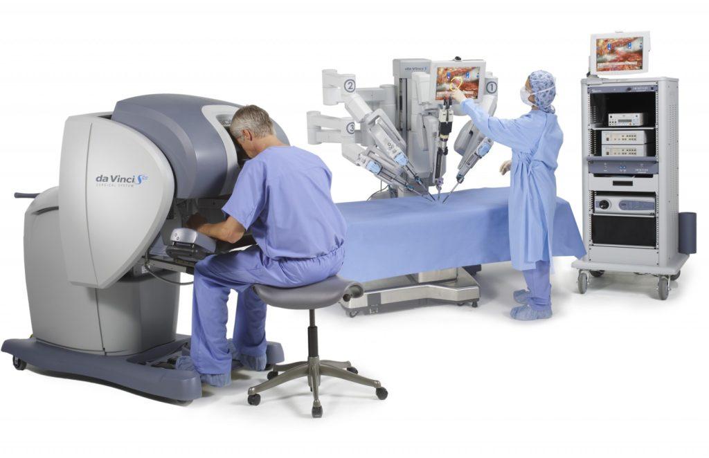 Робот Да Винчи для операций