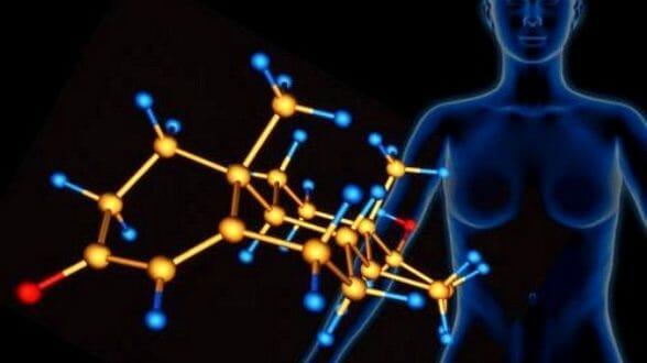 Изображение гормонов в женском организме