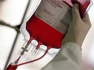 Кровь в пакете