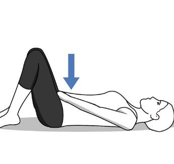 Изображение девушки которая лежит